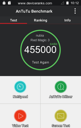 AnTuTu nubia Red Magic 3