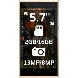 iBerry Auxus Note 5.5 Gold Edition