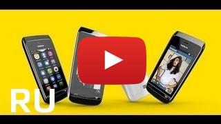 ROZETKA | Сенсор Nokia Asha 308/309/310 черный. Цена, купить ... | 180x320